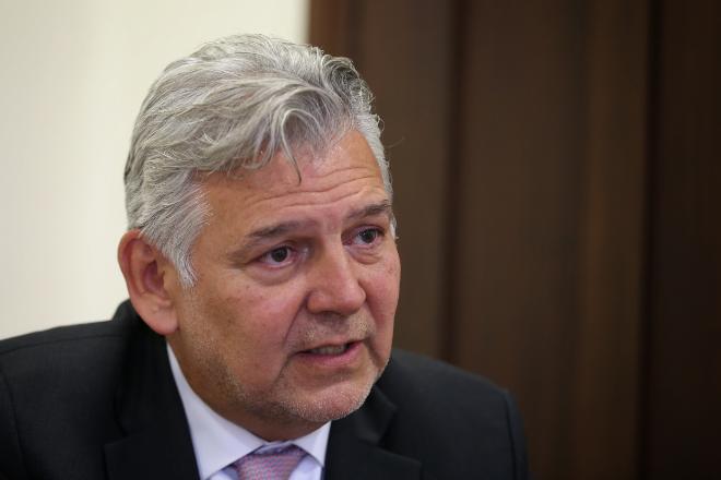 Jaime Alberto Cabal, presidente de Fenalco. / FOTO: COLPRENSA