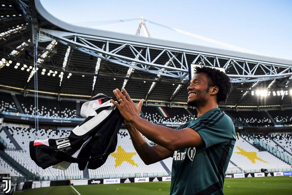 Juan Guillermo Cuadrado, volante de Juventus. / FOTO: JUVENTUS