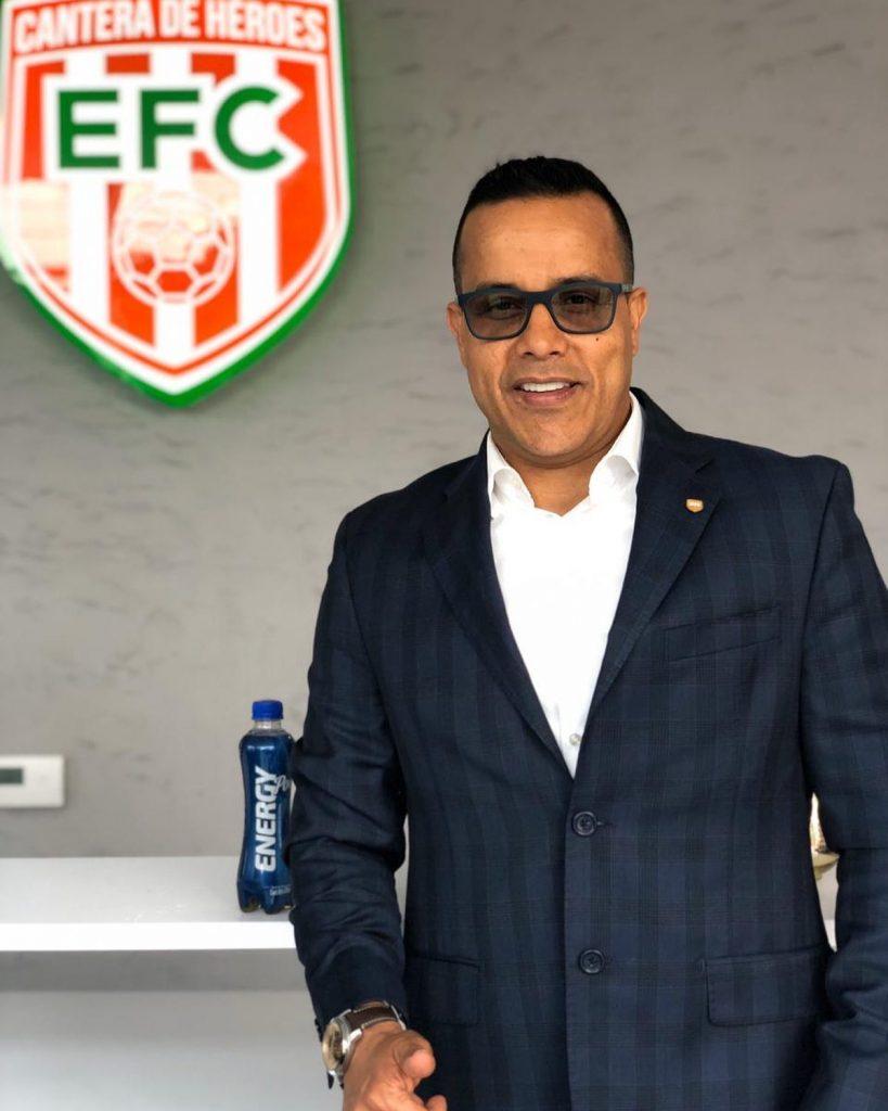 Ramiro Ruiz, presidente de Envigado. / FOTO: ENVIGADO FC.