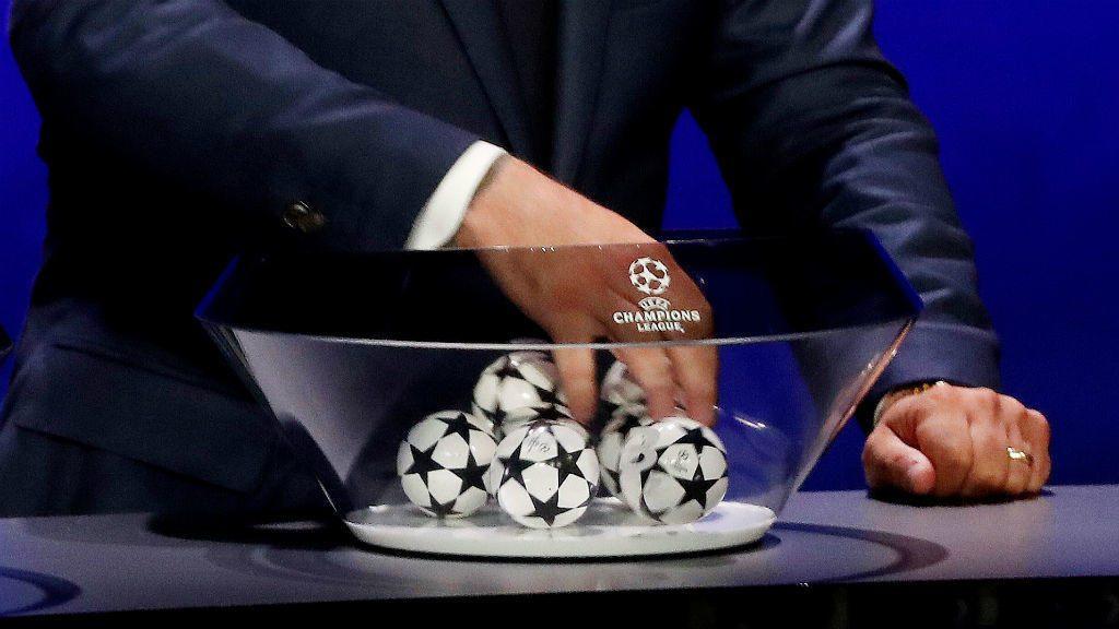 Sorteo Liga de Campeones