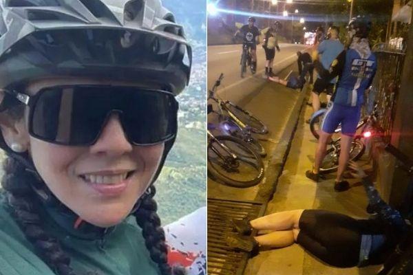Murió Mary Luz, una de las ciclistas arrollada por un conductor ebrio en Copacabana