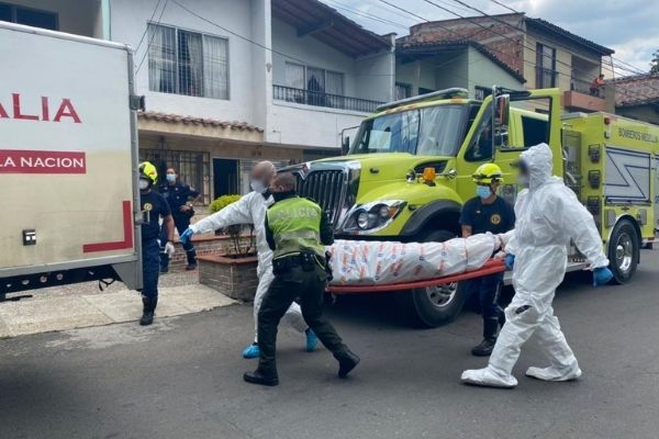 EN FOTOS: El mal olor los alertó de la muerte de una vecina en Santa Lucía