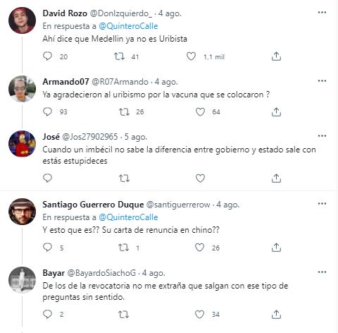 Se burlan del alcalde Daniel Quintero por publicar hasta en chino sobre el metro de la 80 - Noticias de Colombia