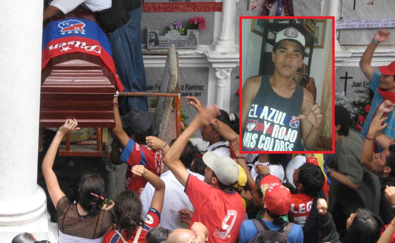 EN FOTO: Este es el hincha del DIM que murió tras una pelea entre barristas
