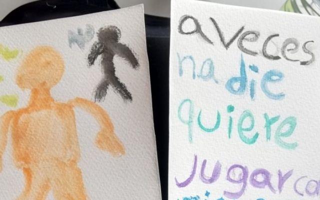 El dibujo sobre la injusticia con el que un niño venezolano conmovió en redes