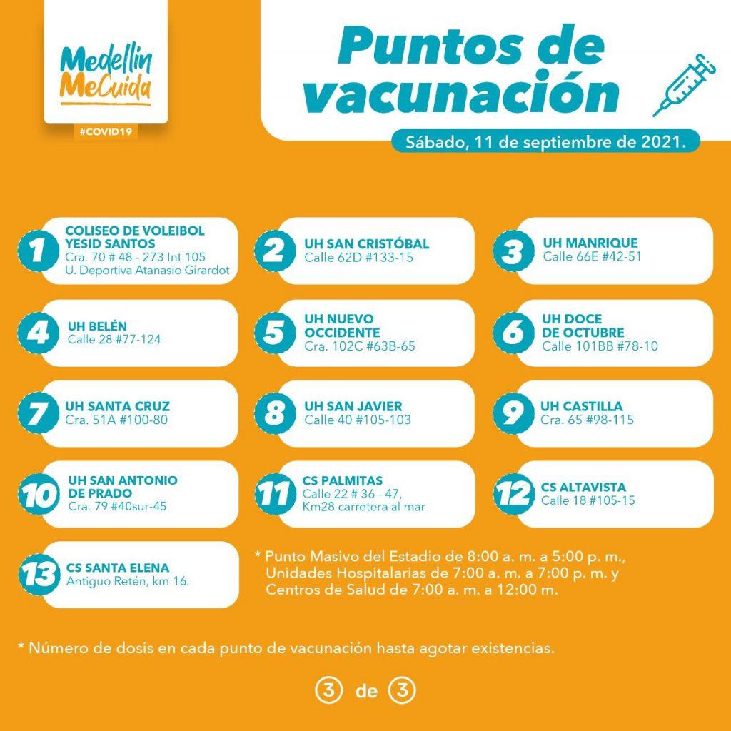 Llegaron más de 45.000 dosis a Medellín y se reactivó la vacunación para toda la población - Noticias de Colombia