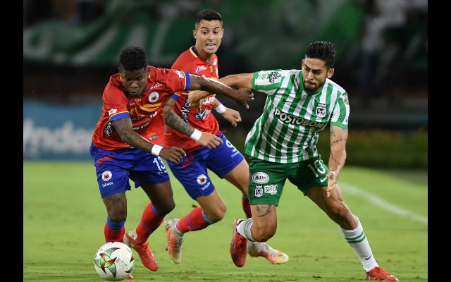 Nacional dejó a Pasto librar un valioso empate (1-1) en el Atanasio