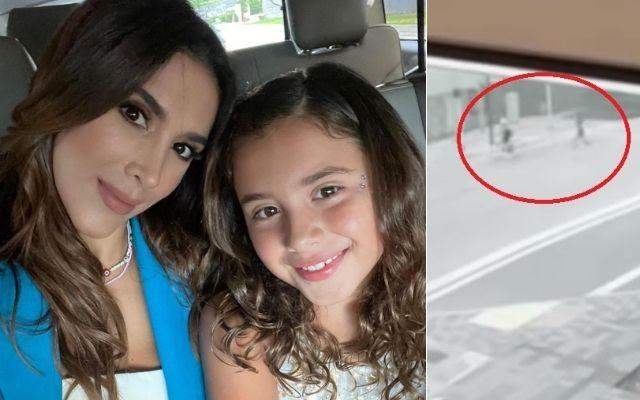 EN VIDEO: A Daniela Ospina la atracaron y salió corriendo detrás del ladrón